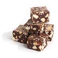 Cubes de saucisson au chocolat