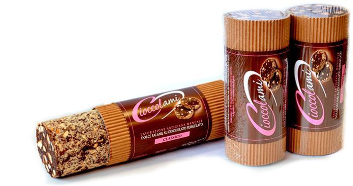 Saucisson au chocolat demi kg