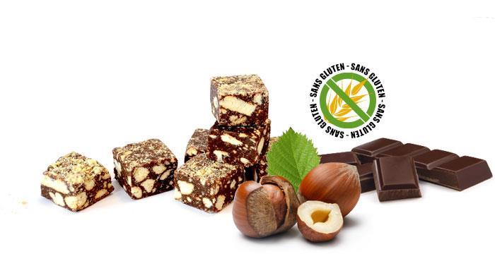 Saucisson au chocolat - Goûts