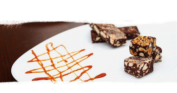 Saucisson au chocolat - Services pour les clients