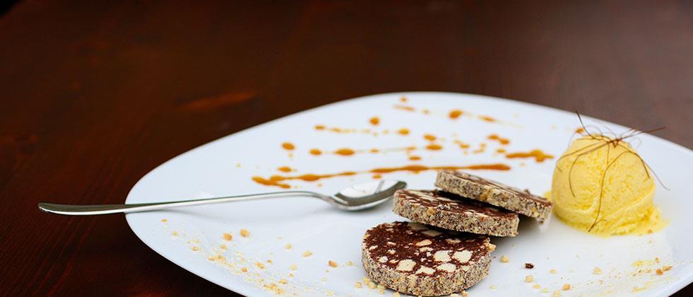 Essayez notre saucisson au chocolat