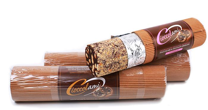 Saucisson au chocolat de 1kg