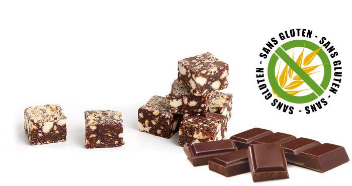 Saucisson au chocolat sans gluten
