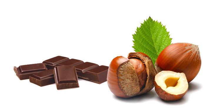 Saucisson au chocolat aux noisettes