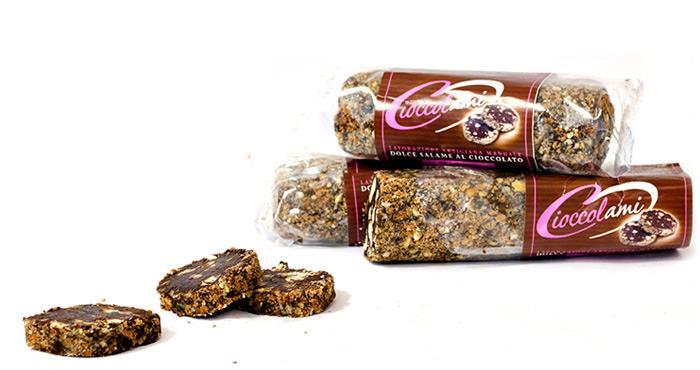 Saucisson au chocolat de 250 gr